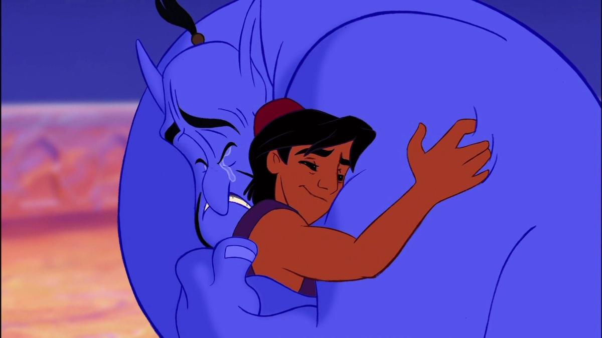 Gigi Proietti vs. Robin Williams - I doppiatori del genio di Aladdin