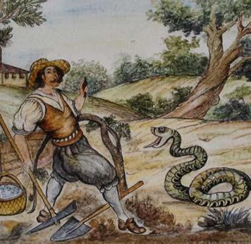 11 maggio 1510 - L'attacco del serpente e l'apparizione della statuina della Madonna