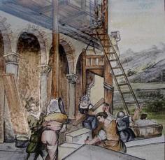 Costruzione del borgo