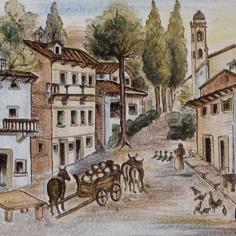 Il borgo e il Santuario