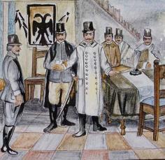 1810 - I frati lasciano il Santuario a seguito dell'invasione napoleonica