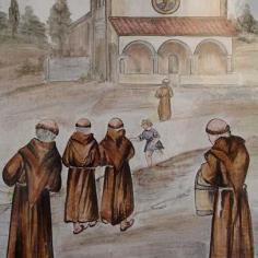 Il ritorno dei frati nel Santuario