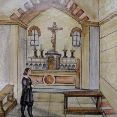 La statuina è scomparsa dal tabernacolo