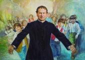 Don Bosco cammina tra i giovani